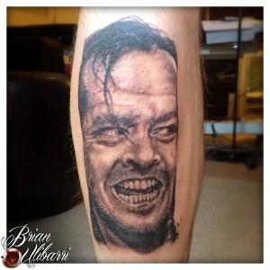 Tattoos by Brian Ulibarri - The Shining