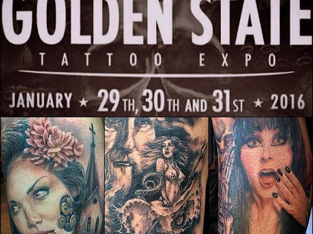 Golden State Tattoo Expo 2016