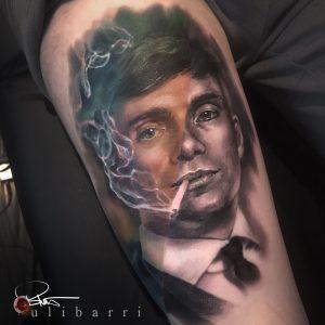 Brian Ulibarri at Ulibarri Ink & Art Tattoo Gallery color tattoos, black and grey tattoos, movie tattoos, portraits, realism tattoos, surrealism, sleeve tattoos, Santa Fe tattoo artist, New Mexico tattoo artist, Denver tattoo artist, Colorado tattoo artist, tattoo