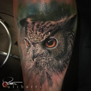Tattoo by Brian Ulibarri at the Ulibarri Ink & ARt Gallery in Santa Fe New Mexico he also Tattoos in Denver Colorado